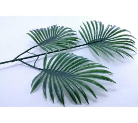 245 Лист пальмы тройной. 37 см. 50 шт./уп.