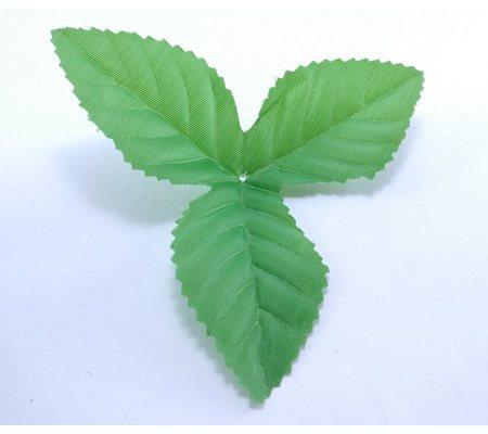 YB-1 Лист розы тройной. 12,5 см. 100 гр./уп. (≈ 200 шт.)